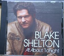 BLAKE SHELTON All About Tonight RARE PROMO CD [1 TRACK] 2010