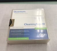 NEW SEALED Quantum Cleaning Tape III 0.5 INCH Cleaning Cartridge THXHC02