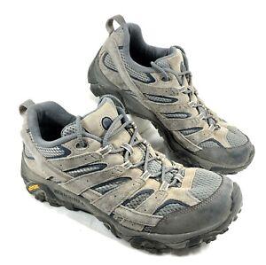 GUC Merrell Castle Rock Moab Ventilator low Hiking Trail Shoes Gray Sz 10