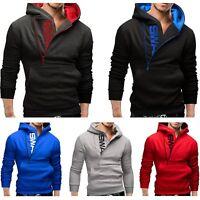 Winter Men's Hoodie Warm Hooded Sweatshirt Coat Jacket Outwear Sweater Slim Tops