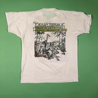New Rare 1987 Grateful Dead Dead Republic t shirt gildan reprint