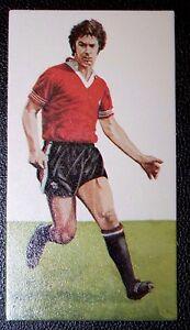 Manchester United    Buchan     Superb  Colour Footballer Card # VGC