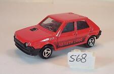 Majorette 1/53 Nr. 239 Fiat Ritmo Abarth 2000 Limousine rot Nr. 2 #568