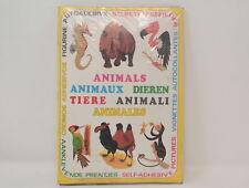 ALBUM - ANIMALS ANIMAUX DIEREN PANINI  ALBUM SIGILLATO [ARM10-430]