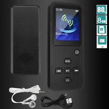 1.8 Inch 8GB Bluetooth Lossless MP3 Player + Headset Support WAV MP3 FLAC WMA