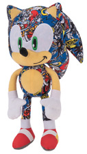 "TOY FACTORY SEGA SONIC STICKER BOMB PLUSH 12"" 3773021"