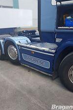 Para adaptarse a Scania Serie P G R 6 09+ Camión De Acero Inoxidable 6x2 ribetes de Lado Falda Top