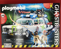 NEW PLAYMOBIL 9220 Ghostbusters Movie Ecto-1 Car Vehicle Set 79 pc w/Figures 6+