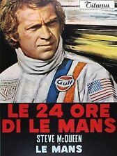 FILM LE MANS MCQUEEN AUTO RACE CAR SPORT ART POSTER PRINT LV1575