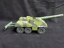 Vintage 1984 GI Joe Slugger Vehicle Tank Artillery Cannon Gun
