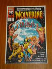 WOLVERINE GLOBAL JEOPARDY #1 MARVEL COMICS DECEMBER 1993