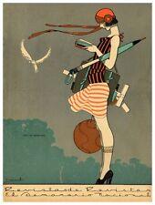 Revista de Revistas cover c1923 by Ernesto Garcia Cabral 13 x 19 Giclee print