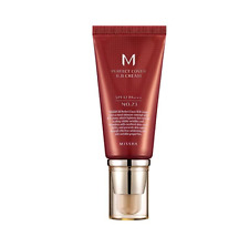 MISSHA M Perfect Cover BB Cream 50ml SPF42 - #21 Light Beige Original Cosmetics