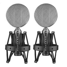 Cascade FAT HEAD (980-B-A) | Ribbon Microphone | Stereo Pair