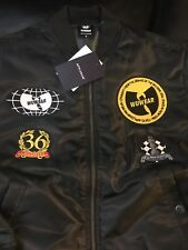 Wu-Tang /Wu Wear  Bomber Jacket/ patches Extremely Rare. JAPAN