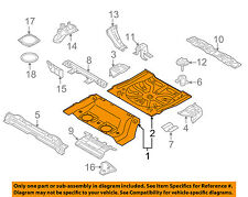 NISSAN OEM 09-10 Murano REAR BODY-Floor Pan Assembly G45121AAMA