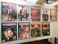 Cinefantastique Magazine Lot Of 9 Vol. 30 Nos. 1-12! Giger X-Files Star Trek LN
