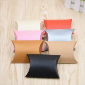 100 Pillow Anti-Scratch Wedding Party Favour Gift Candy Box Xmas