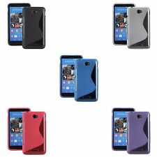FOR SONY XPERIA E4 S-LINE SILICONE GEL IN VARIOUS COLOURS COVER CASE