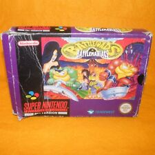 VINTAGE SUPER NINTENDO ENTERTAINMENT SYSTEM SNES BATTLETOADS IN BATTLEMANIA GAME