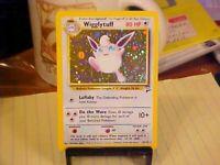 Wigglytuff 19/130 Base Set 2 Pokemon Card Holo RARE