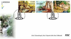 Kosovo Stamps 2021. The spring water. FDC MNH
