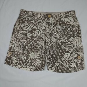 Unionbay Bermuda Shorts Size 5 Womens Low Rise 7.75in Floral Design Cuffed