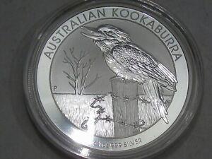 BU 2016 Australian Kookaburra 1 troy oz 999 Fine Silver AUSTRALIA.  #4
