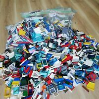 LEGO (X150+PC'S) 0.5KG LEGO WINDOW, WALL & DOORS CREATIVITY PACK - BULK BAGS!