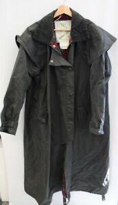 Men's BARBOUR BACKHOUSE Black Wax Cotton Trench Coat CH40 - L44