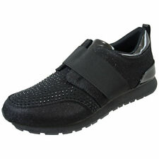 Wedge Standard Width (D) Synthetic Upper Trainers for Women