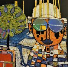 """Friedensreich Hundertwasser (1928-2000) Kunstdruck: """" TROPENCHINESE """""""