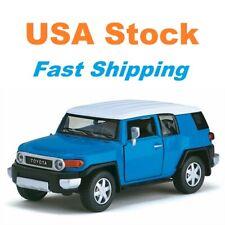 Toyota FJ Crusier, Kinsmart, Diecast Model Toy Car, 5'', 1:36 Scale, 4 Colors