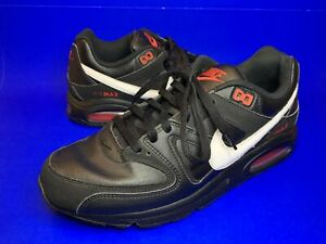 Nike Air Max Command Trainers  Black White C-Way size 10 Uk Vintage Vgc