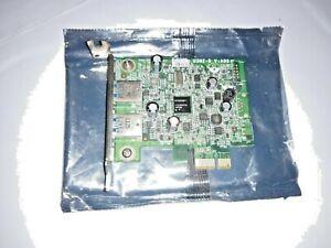 Genuine OEM Dell 0FWGJ8 2 Port USB 3.0 Half Height PCI-Express Card TESTED!