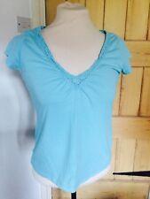 Camiseta Zingara turquesa, tamaño 10-12