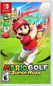 Mario Golf: Super Rush - Nintendo Switch New