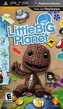 LittleBig Planet (2009) Brand New Factory Sealed USA Playstation Portable PSP