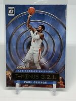 2019-20 Donruss Optic T-Minus 3,2,1 Paul George Los Angeles Clippers #3
