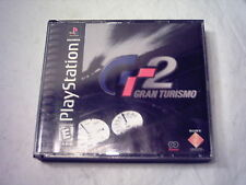 SONY Playstation PS1 Video Game GRAN TURISMO 2 Complete *2 Discs* SCUS-94455  NM
