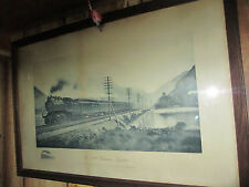RARE Vintage Original The 20th Century Limited Railroad Photograph