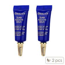 Pack of 2 Guerlain Super Aqua Eye Serum 5ml Essence Tightening Age Delay#8743_2