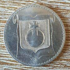 (#1226)FRANCE Médaille de ville Montélimar 20éme siécle en Nickel 9,80 grs