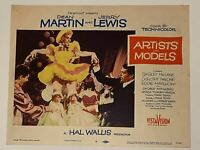 1955 Artists and Models #8 Lobby Card 11x14 Dean Martin, Jerry Lewis, MacLaine
