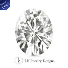 0.50 CT OVAL MOISSANITE FOREVER ONE COLORLESS from CHARLES AND COLVARD