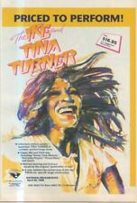 """(SFBK6) POSTER/ADVERT 12X10"""" THE IKE AND TINA TURNER MUSIC VIDEO"""