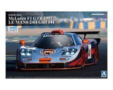 Aoshima 07471 1/24 New McLaren F1 GTR 1997 Le Mans 24H GULF #41 from Japan Rare