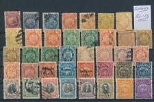 LL99765 Bolivia classic stamps fine lot used