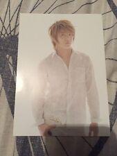 TVXQ Tohoshinki Begin Xia Junsu Postcard Photocard