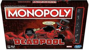 Monopoly Marvel Deadpool Edition Board Game*BRAND NEW*NEARLY GONE*GREAT PRICE!!*